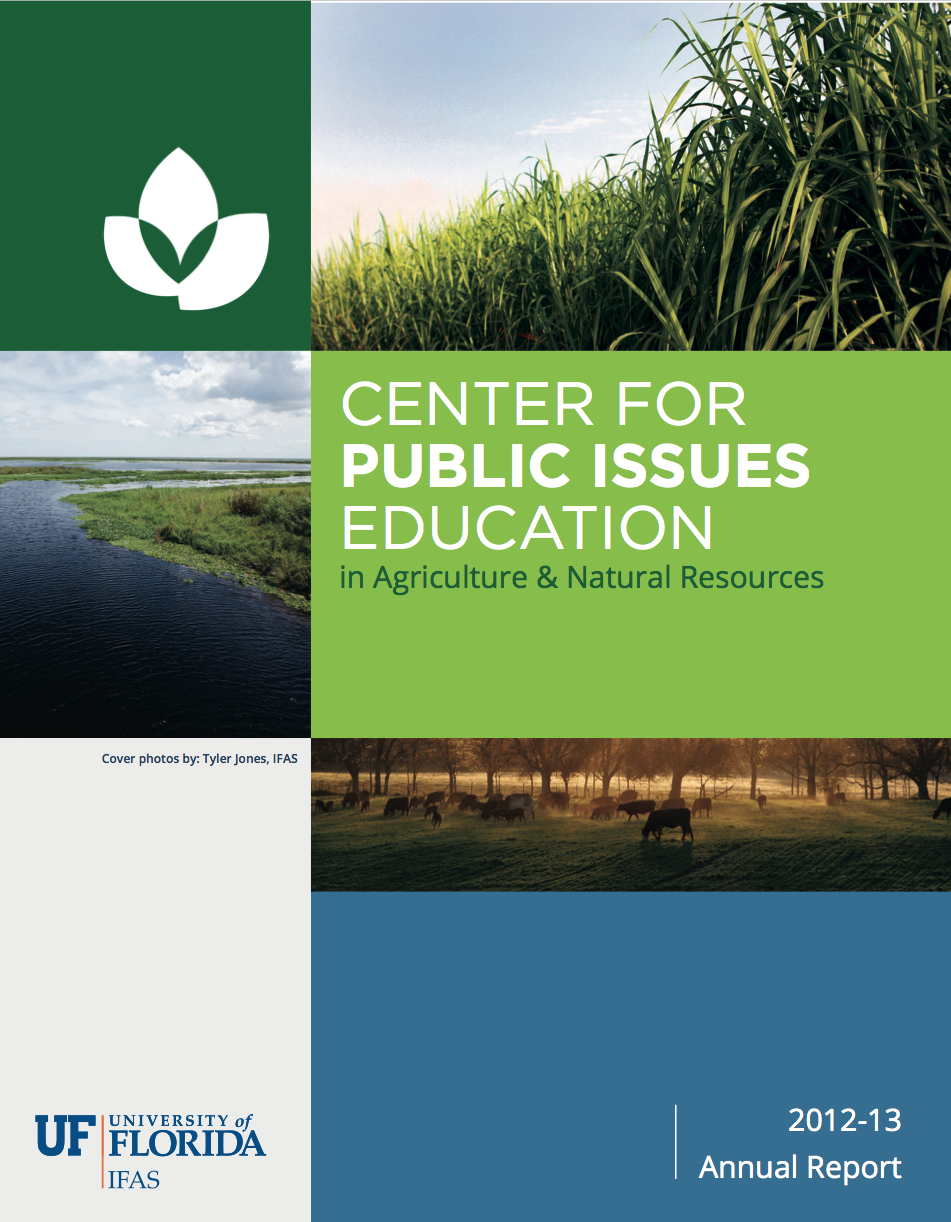 Uf Ifas Center For Aquatic And Invasive: UF/IFAS Center For Public Issues Education » 2012-13
