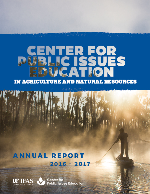 Uf Ifas Center For Aquatic And Invasive: UF/IFAS Center For Public Issues Education » 2016-17